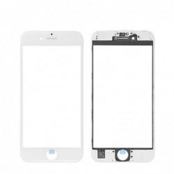 LCD stikliukas Apple iPhone 6S su remeliu ir OCA baltas ORG (v2)